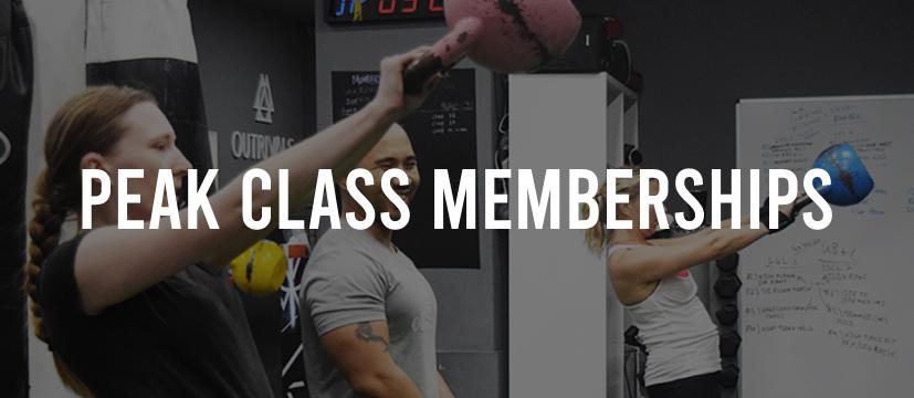 Peak Class Memberships