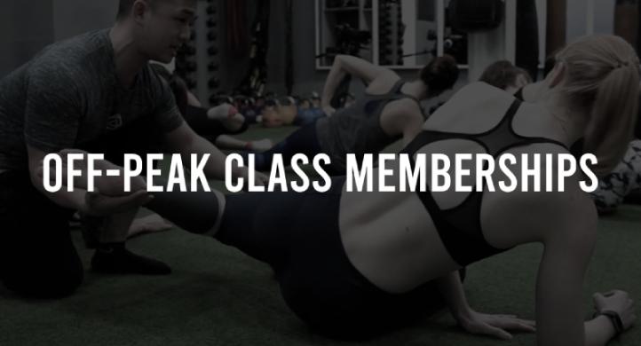 Off-Peak Class Membership