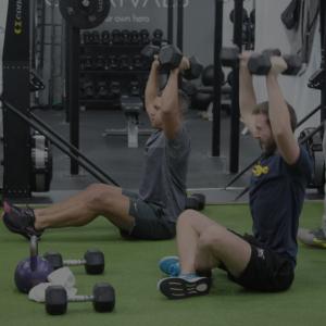 Josh training