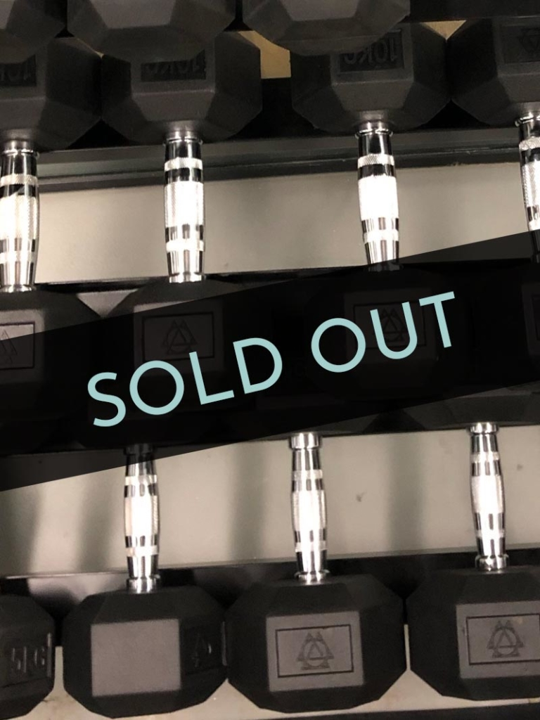 Hex dumbbells web new SOLD OUT