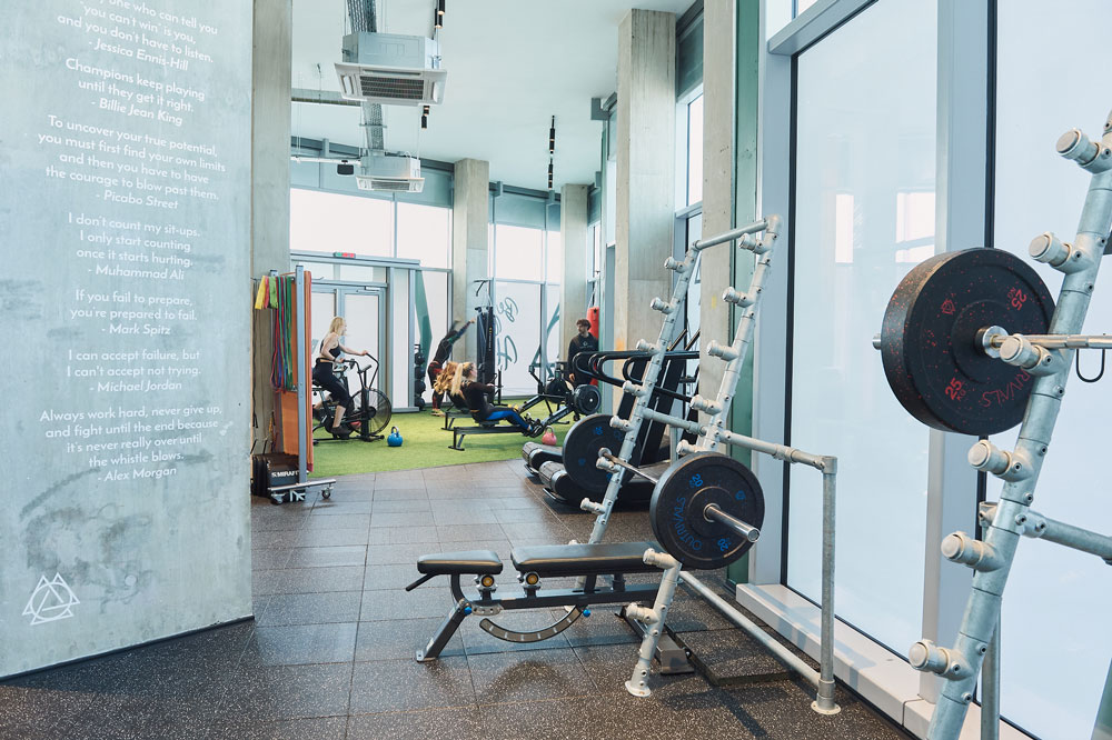 Outrivals On The Tide North Greenwich Gym