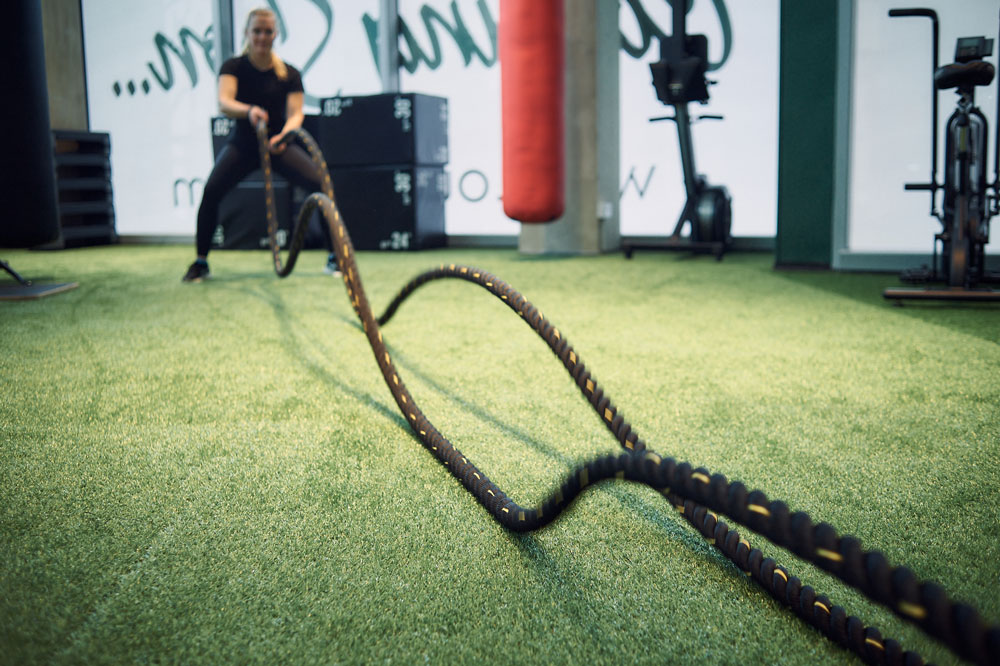Outrivals On The Tide North Greenwich Battle ropes